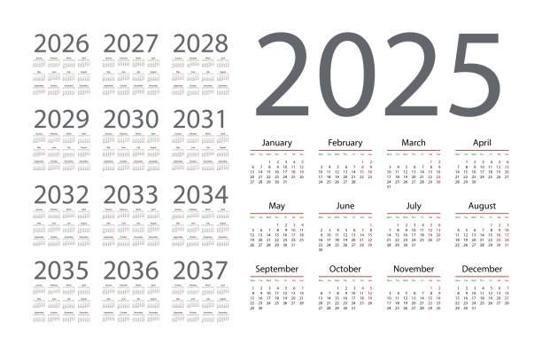 カレンダー2025