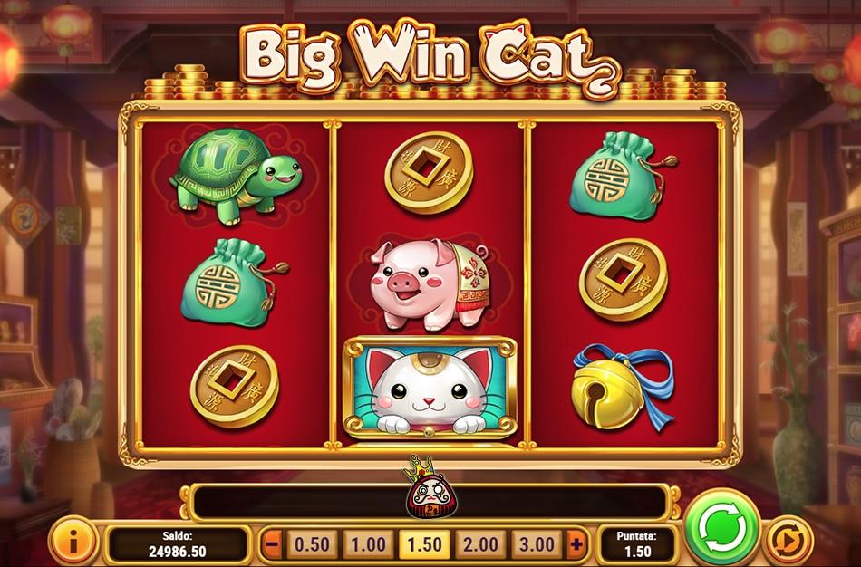 big win cat のオンラインスロット