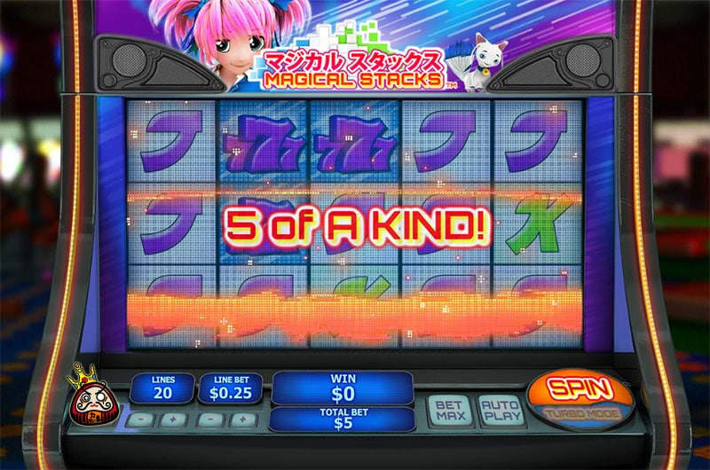Magical Stack ボーナスゲーム