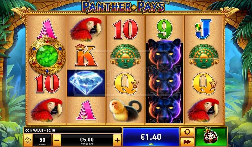 Panter Pays オンラインスロットマシン